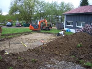Baufortschritt und Pool_29.04.13 001